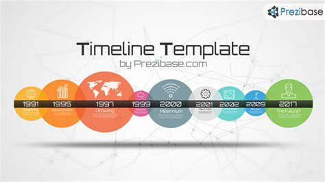 How To Make A 3d Timeline On Paper - timeline template prezi template prezibase