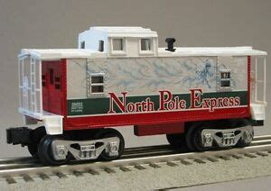 north pole express christmas train set 2014 lionel pole express caboose o polar car 6 30194 c ebay