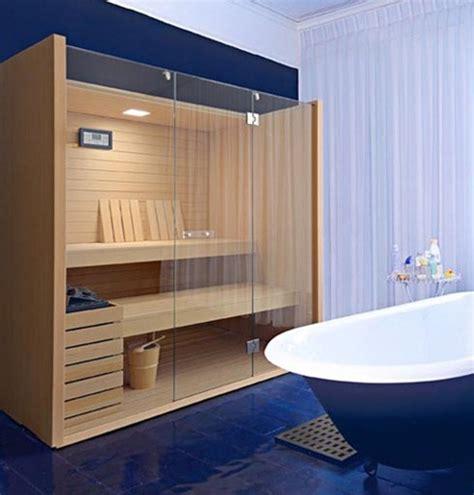 como decorar baños lujosos sauna personal por effegibi interiores