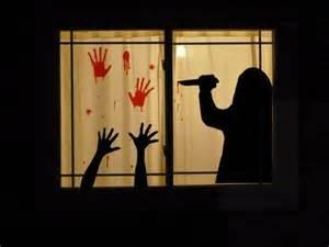 Halloween Window Decorations Homemade 1000 Ideas About Halloween Window Silhouettes On