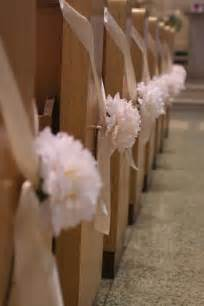 pew decorations for wedding decorating tips guide to wedding bows pew bows made