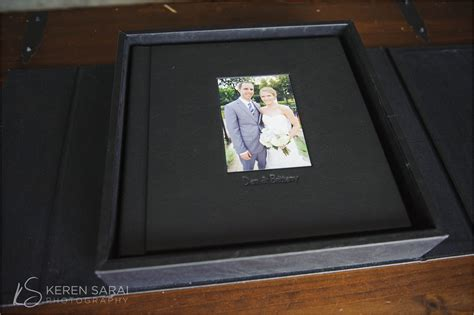 Wedding Albums Leather by Chicago Engagement And Wedding Photography Keren