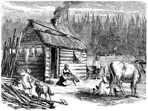 log cabin drawings log cabin clipart etc