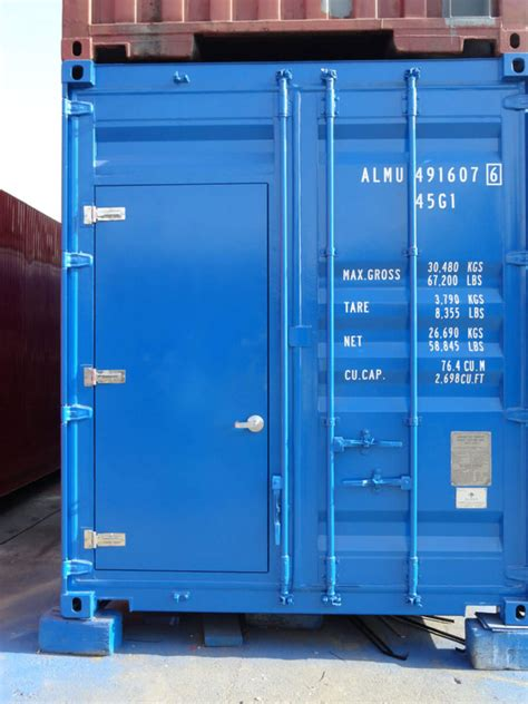 Container Modification Dubai by Pressure Test Dubai Almar Container
