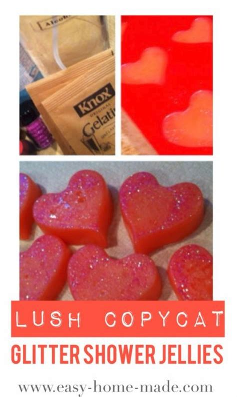 How To Make Lush Shower Jellies 35 lush inspired diy products diy projects for