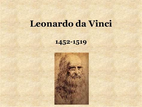 leonardo da vinci biography early life high renaissance ppt download