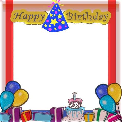 Frame 6r Happy Birthday 17 best images about happy birthday photo frames on