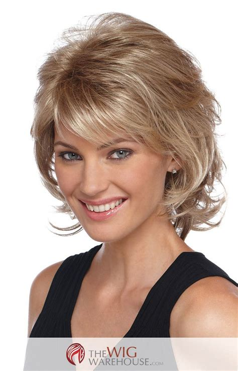 Wigs Medium Length Feathered Hairstyles 2015 | wigs medium length feathered hairstyles 2015 shag wig
