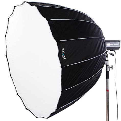 Emboss Grid Abu selens 36 inch 16 rods portable umbrella brolly reflector octagon softbox with bowens mount for
