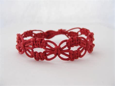 Macrame Bracelets Patterns - instant pattern lacy macrame knotted bracelet