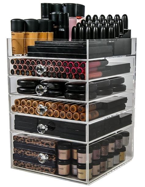 best organizers 25 best ideas about acrylic makeup organizers on best makeup brush sets makeup