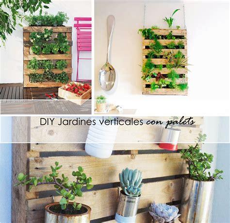 jardines con palets 2 tutoriales para jardines verticales con palets ecolog 237 a