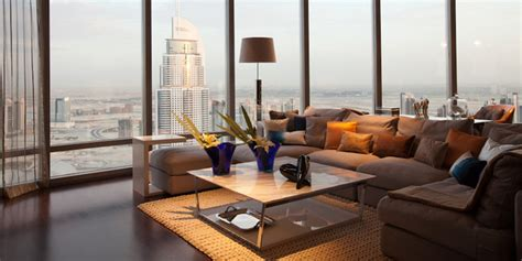 Lights Over Island In Kitchen burj khalifa dubai contemporary living room other