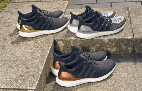 Adidas Ultraboost Black Silver Premium Quality adidas release limited edition ultraboost metallic pack