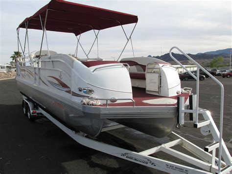 tritoon boat trailer jc tritoon 266 2005 for sale for 4 999 boats from usa