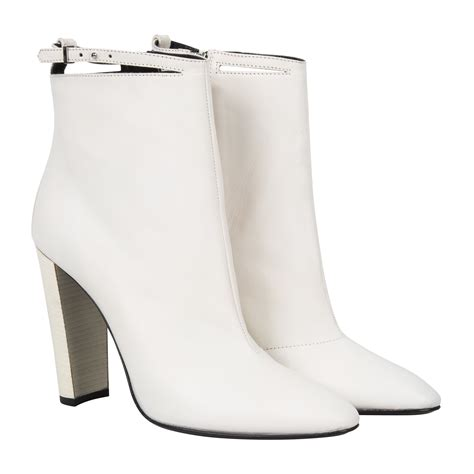 white boots for white leather ezell boots 163 390 paul smith www paulsmith