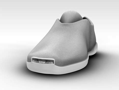 slippers with headlights shoe headlights yanko design