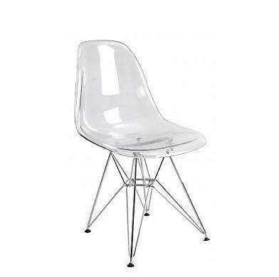 Clear Chair - clear plastic chair ebay