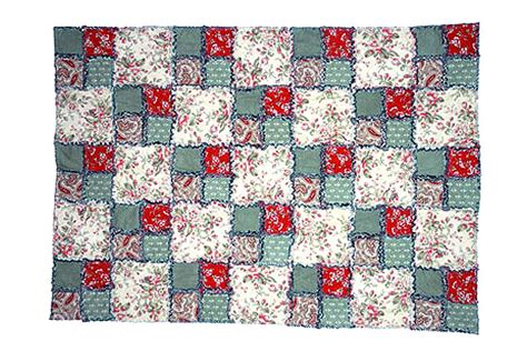 Raggedy Quilt Pattern by Easy Four Patch Rag Quilt Pattern