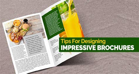 10 tips for designing a 10 tips for designing impressive brochures