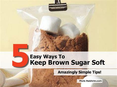 5 easy ways to keep brown sugar soft