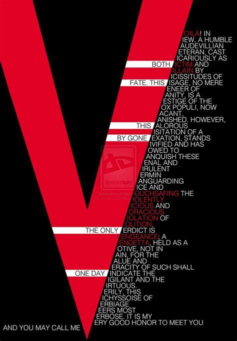 V For Vendetta B C the 25 best v for vendetta speech ideas on t