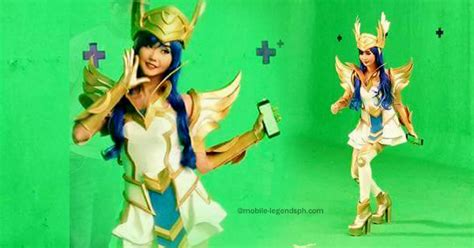 Legend Of Freya look alodia gosiengfiao as freya mobile legends