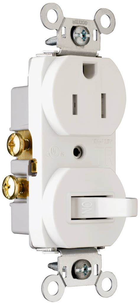 p s ter resistant receptacle switch combinations