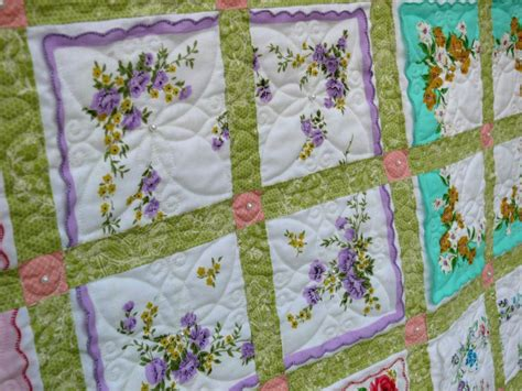 Handkerchief Quilt Pattern by Dirt Cheap Decor Hanky Quilt
