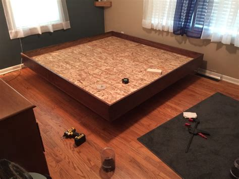 How To Build A Floating Bed by How To Build Your Own Floating Bed 9 Pics