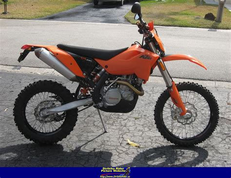 Ktm 525 Weight 2003 Ktm 525 Exc Racing Pics Specs And Information