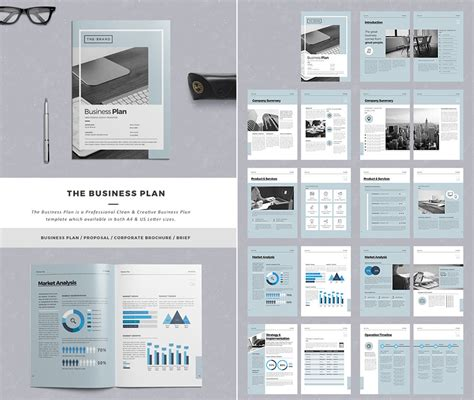indesign business plan template 15 best business templates for new client projects