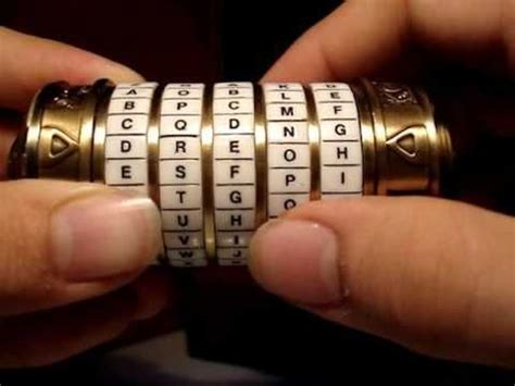 Cryptex Puzzle By Utama Craft make a cryptex gps madness munzee geocaching