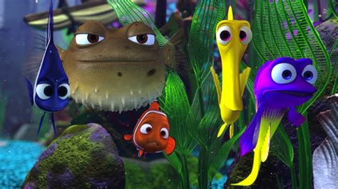 Reel Golden Fish Nimo 351 15 things you might not about finding nemo mental