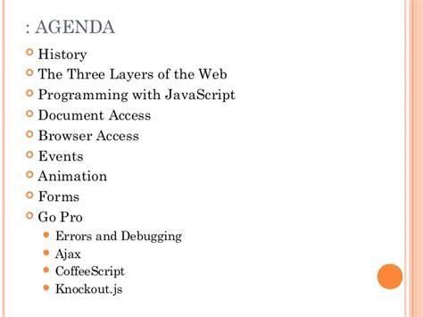 javascript tutorial ppt slides javascript tutorial