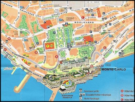 map of monte carlo monaco map images