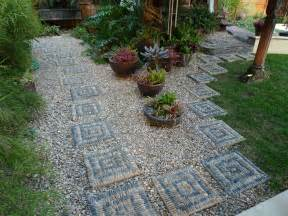 Jeffrey bale s world of gardens building a pebble mosaic stepping