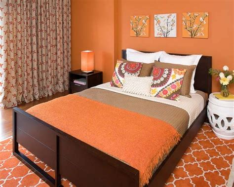 orange bedroom decor orange bedroom decorating ideas adding gallery including