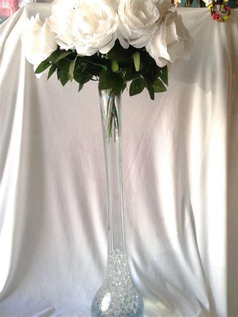 floreros de mesa para boda florero centro de mesa 60 cm vidrio soplado xv a 241 os boda