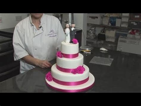 How To Do Wedding Cake Decorations   YouTube