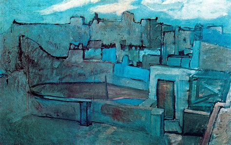 picasso paintings in barcelona the roofs of barcelona 1903 pablo picasso wikiart org