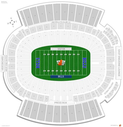 ralph wilson seating chart buffalo bills seating guide new era field