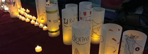 candle lighting ceremonies help south florida children and