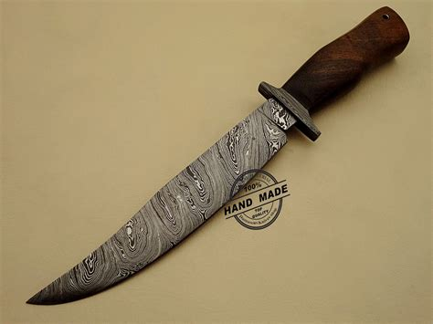 Best Handmade Knife - damascus knife custom handmade damascus steel best
