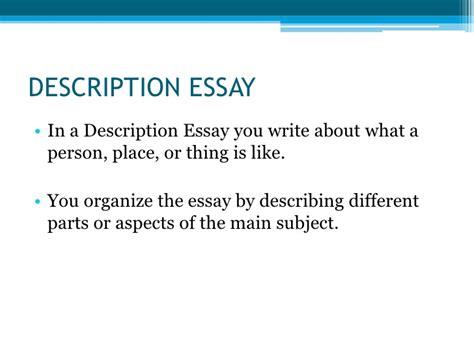 Description Of A Person Essay by Description Person Place Essay Gcisdk12 Web Fc2