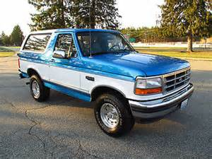 1995 For Sale 1995 Ford Bronco Sale Mitula Cars