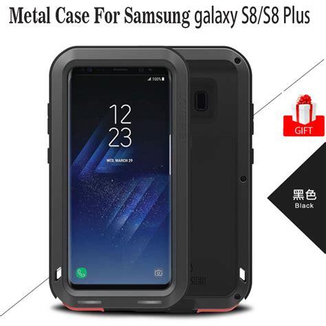 Samsung Galaxy S8 Plus Fuze Anti Original note 8 anti fall original mei shockproof aluminum armor coque for samsung galaxy