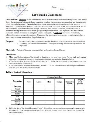 interpreting graphics taxonomy worksheet answers brown science celebration and freebies