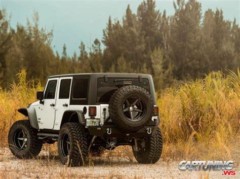 vossen jeep wrangler tuning jeep wrangler rear