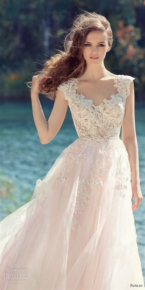 colored wedding dress best 25 blush wedding dresses ideas on blush